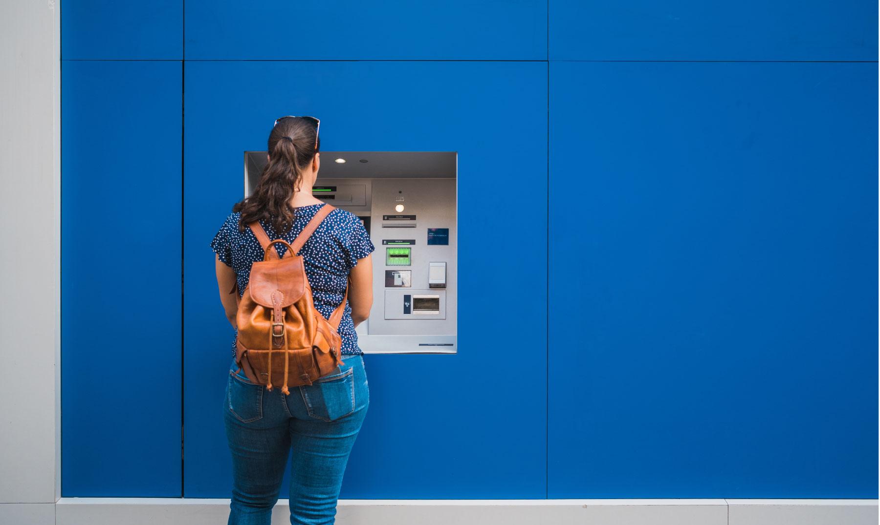 Consejos sobre el uso de cajeros automáticos en Europa