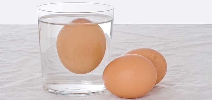 Cómo saber si un huevo está en buen estado | Prueba de flotación