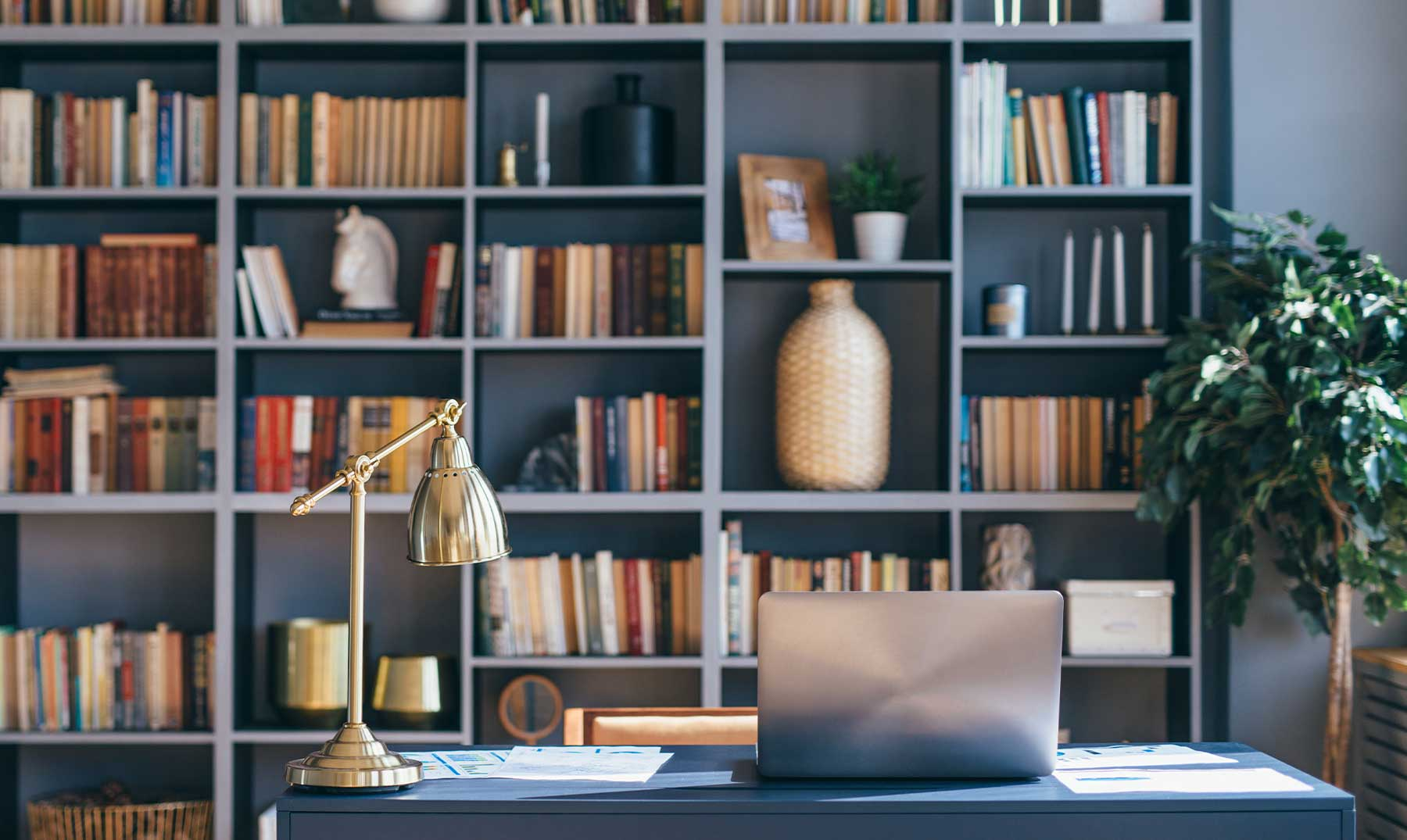 lugar de estudio en casa