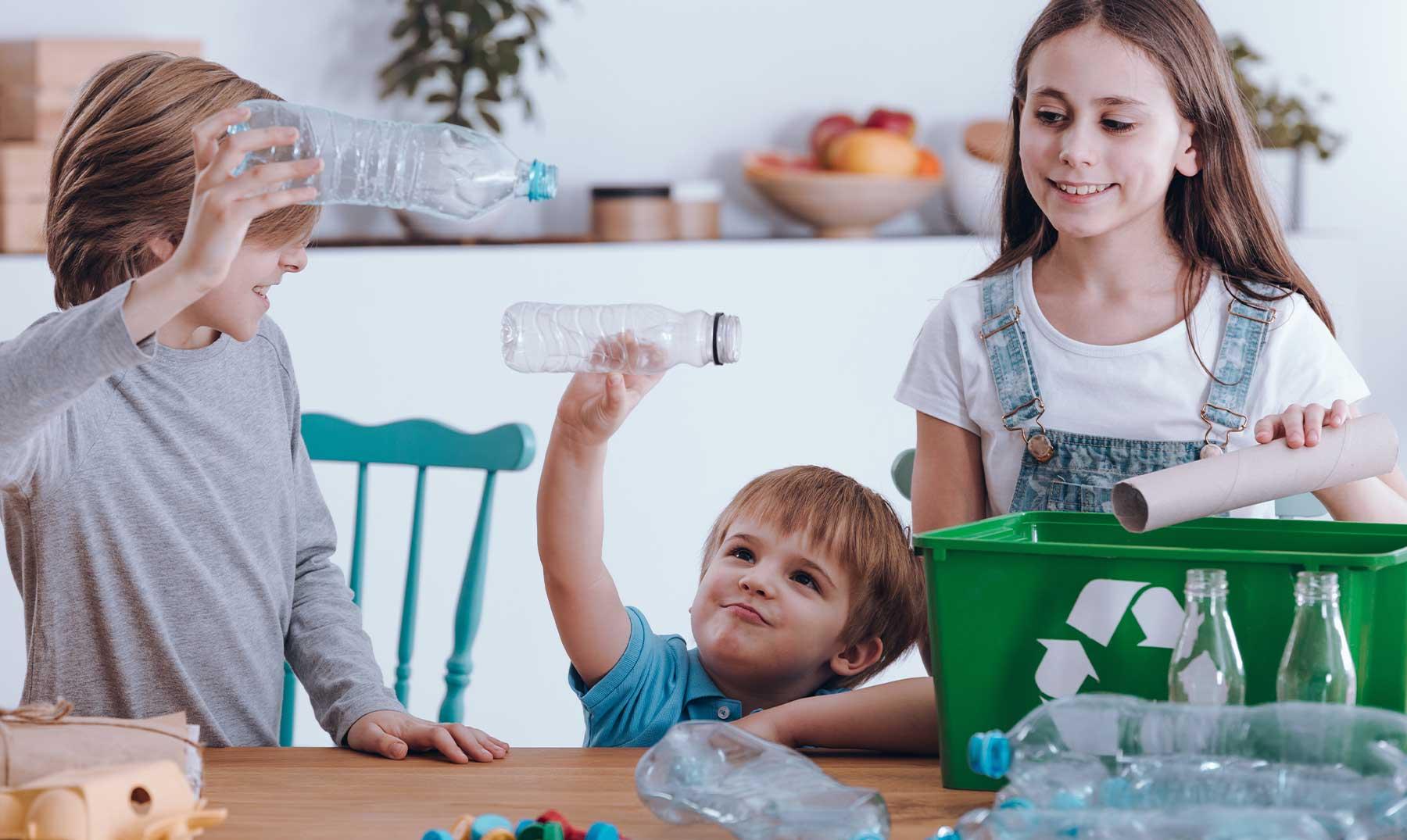 reciclaje en el hogar