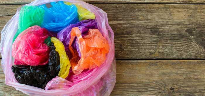 reutilizar bolsas de plástico
